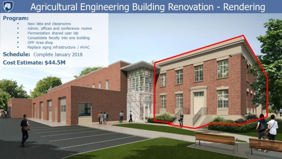 Faculty Senate Construction Report, September 6, 2016 - Slide 4